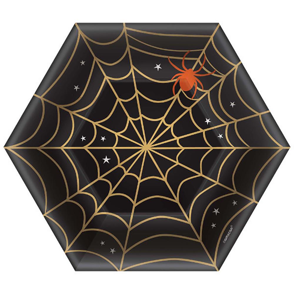 Assiettes toiles d'araignée 7''