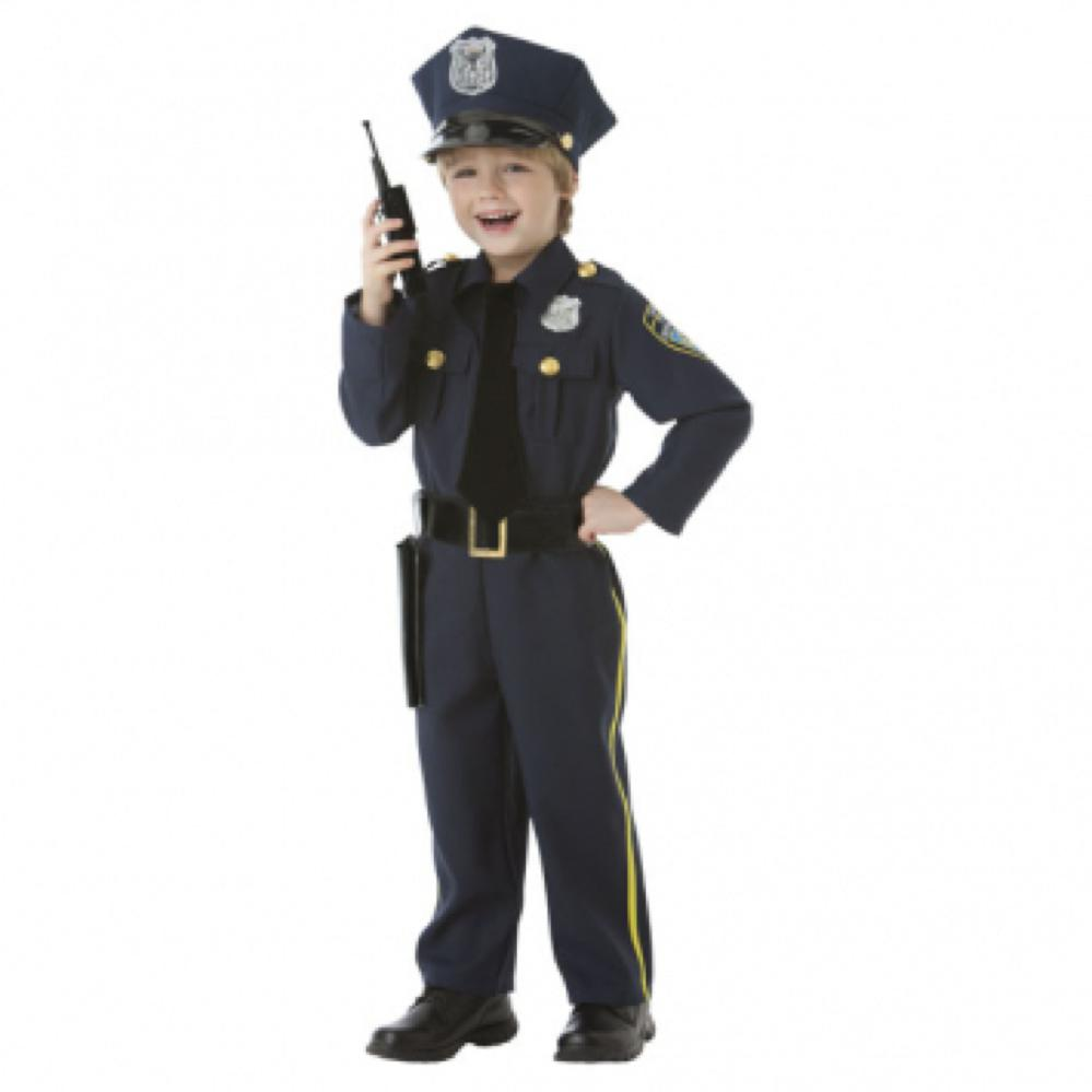 Costume - Policier (3-4 ans)