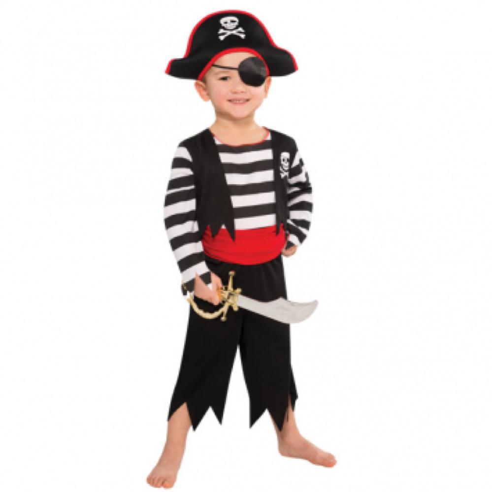 Costume enfant - Pirate rascal (Bambin, 3-4 ans)