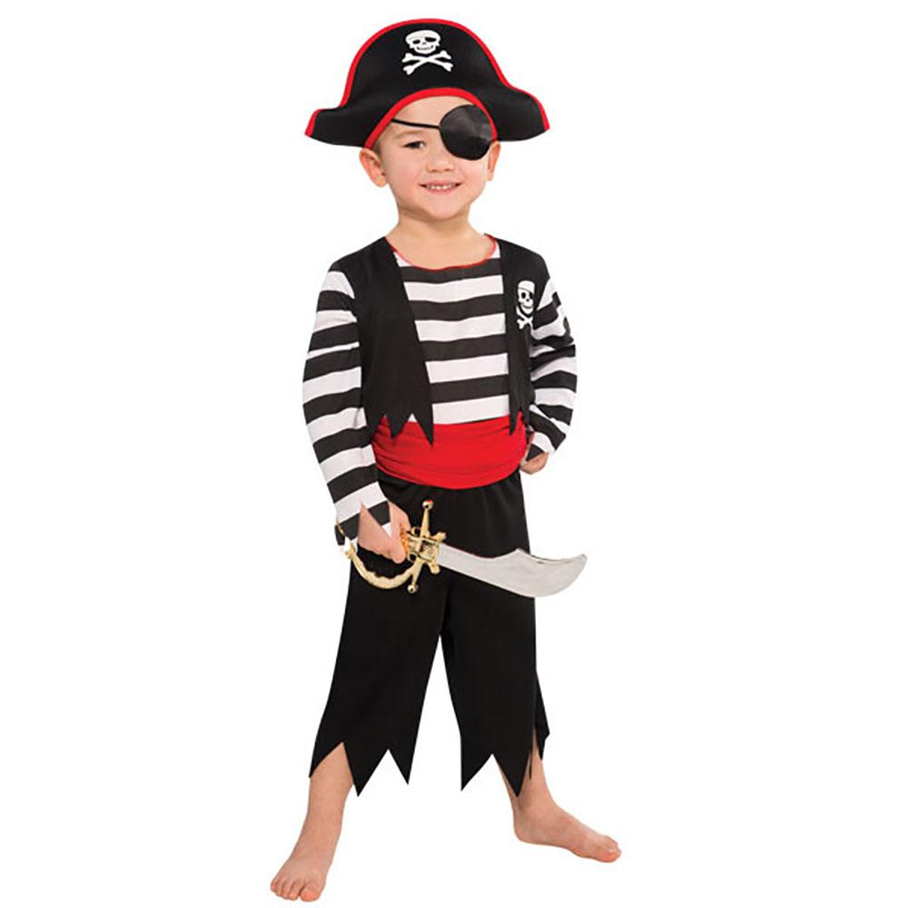 Costume enfant - Pirate rascal (Petit, 4-6 ans)