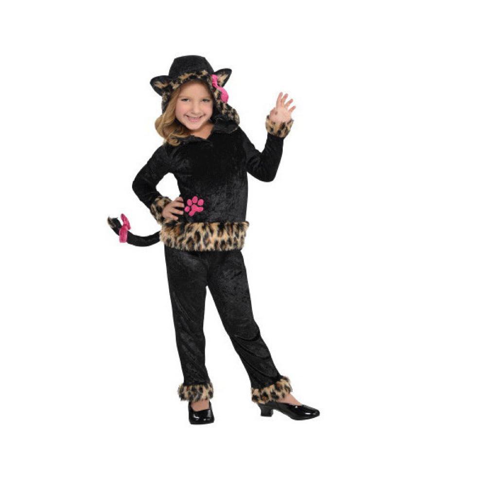 Costume - Léopard Grrrl fille (moyen)