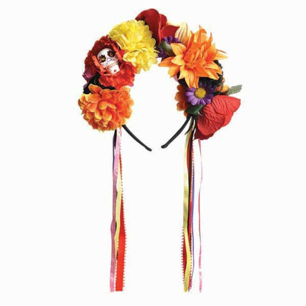 Bandeau de fleur jour de la mort