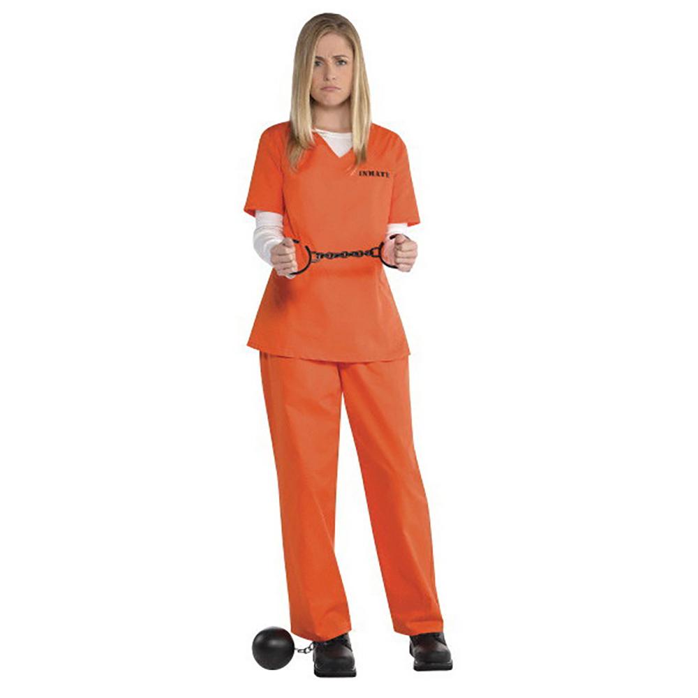 Costume - Détenue Orange (taille unique)