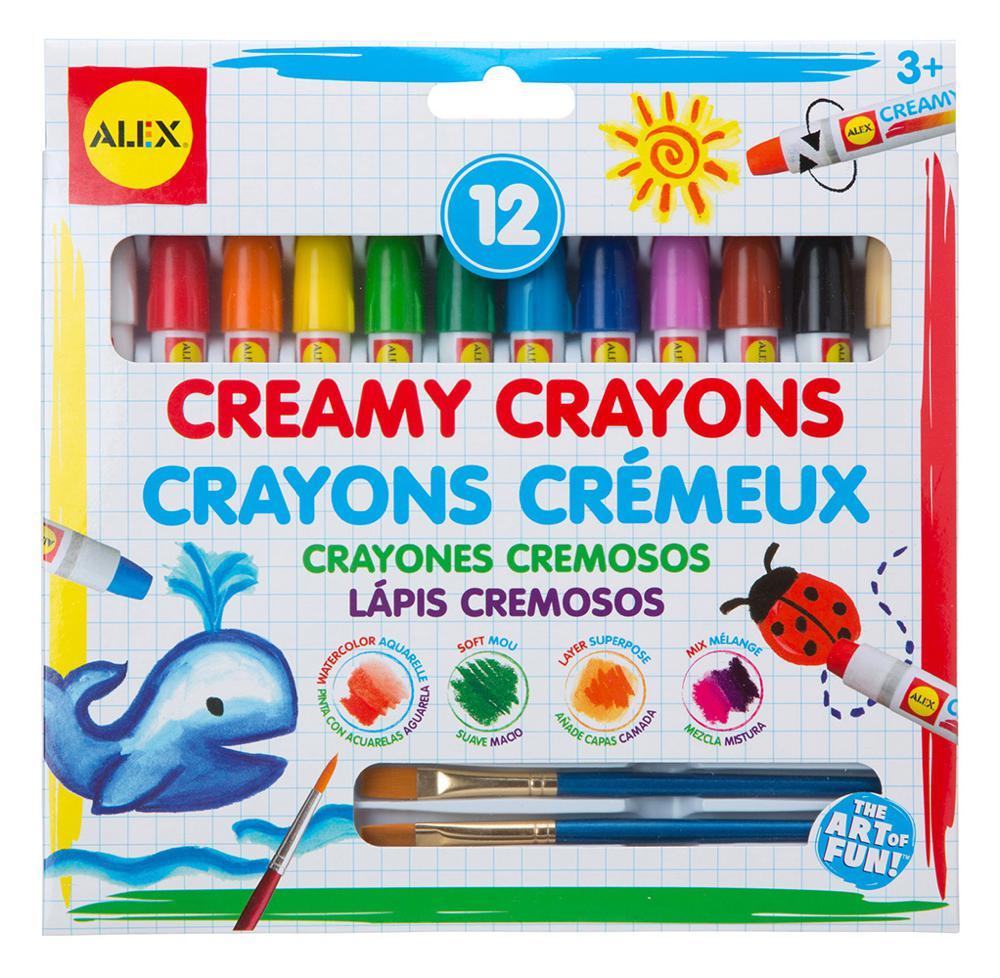 12 Creamy Crayons