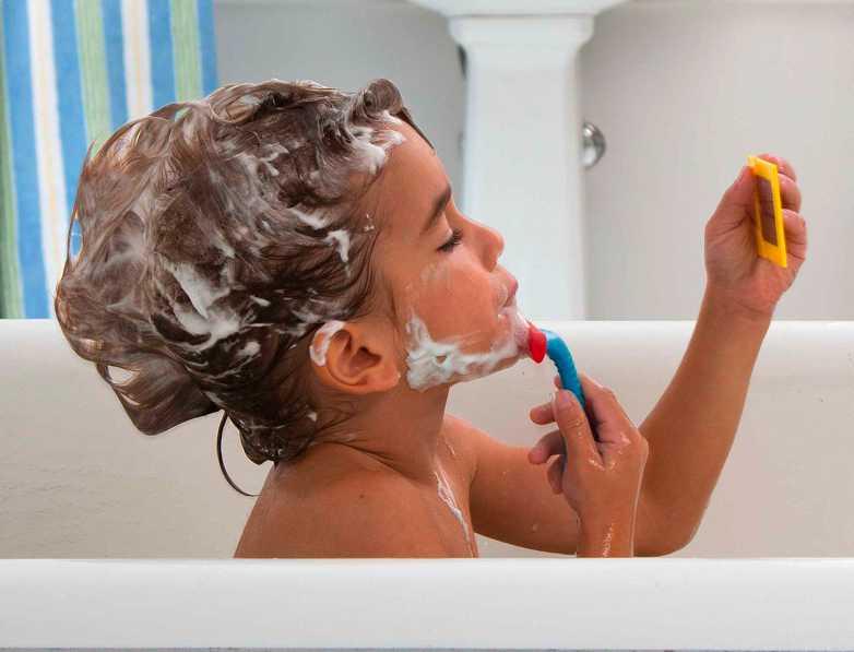 Rasage pour le bain