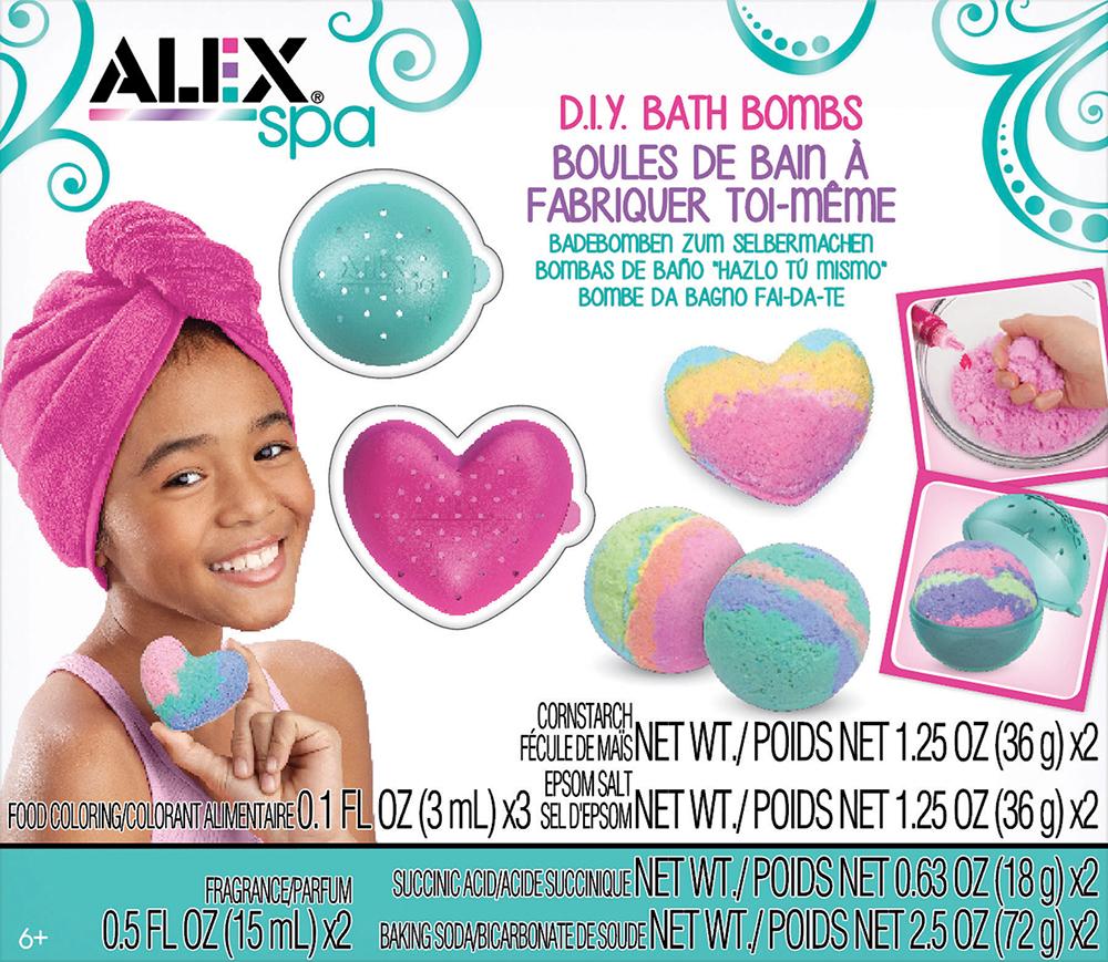 Alex - Spa Boules de bain à fabriquer toi-même