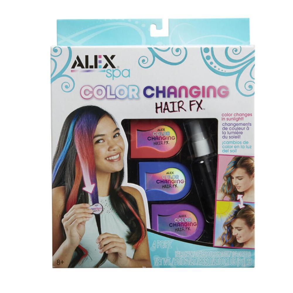 Alex - Spa Changement couleur de cheveux Fx