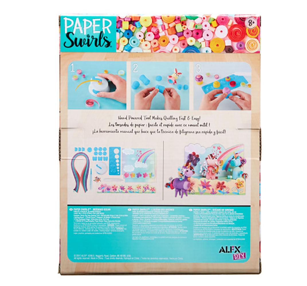 Alex - DIY Paper Swirls Licorne Féérique