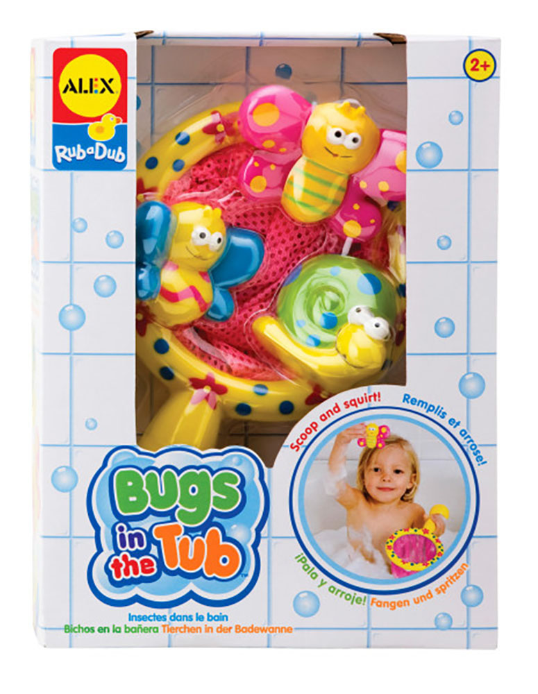 Alex- Insectes dans le bain