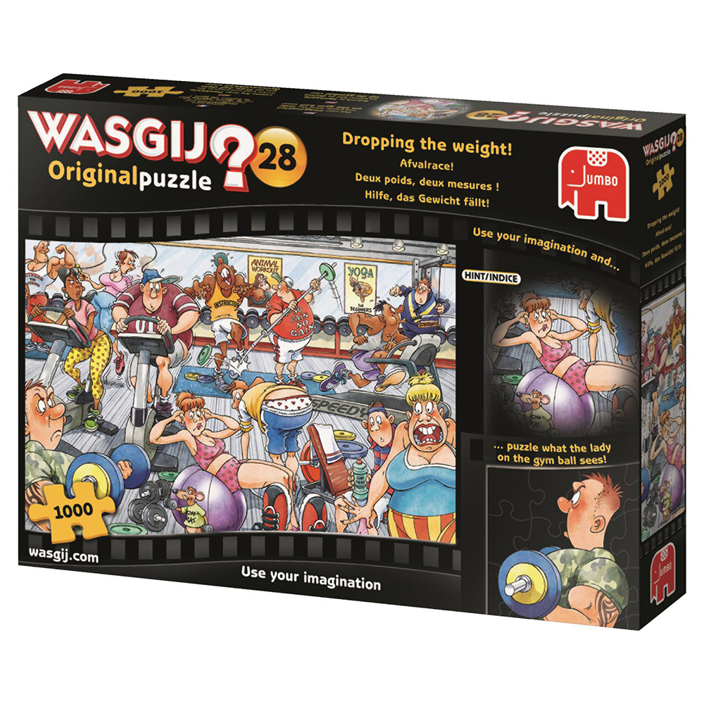 Wasgij Casse-tête 1000 pièces - 2 poids 2 mesures