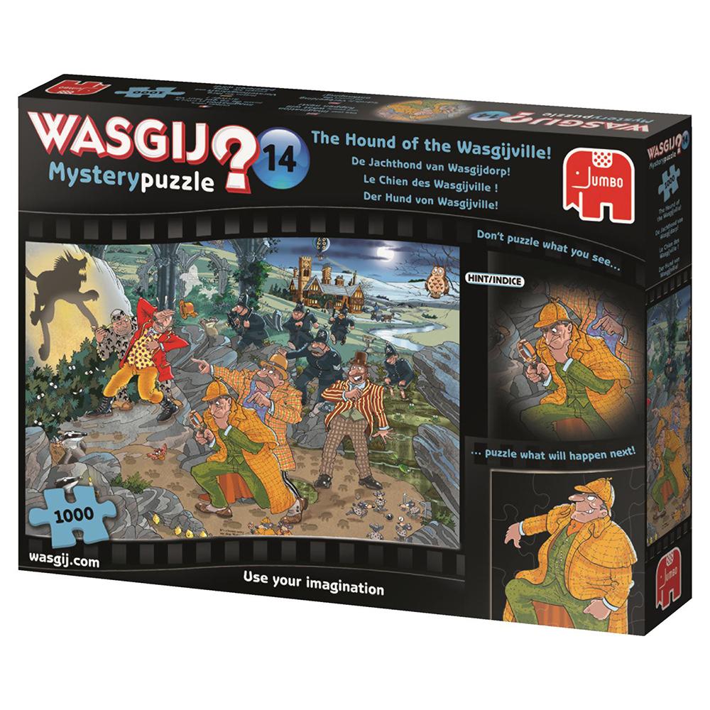 Wasgij Casse-tête 1000 pièces - Le chien des Wasgijville! 1000 pièces