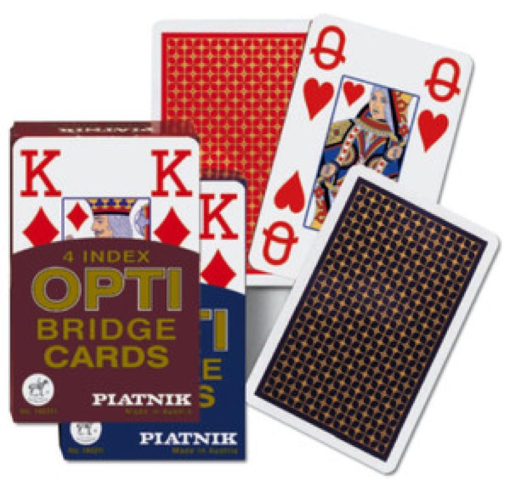 Carte de bridge Jeu simple