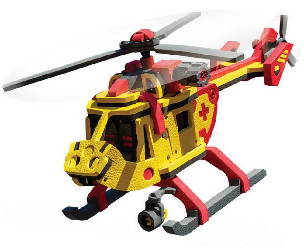 Bloco hélicoptere de sauvetage