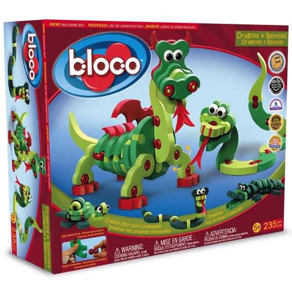 Bloco Dragons et Reptiles