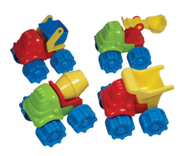 Kiddie Camion de construction assortiment