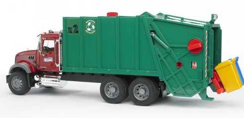 Bruder - MACK Camion à ordures