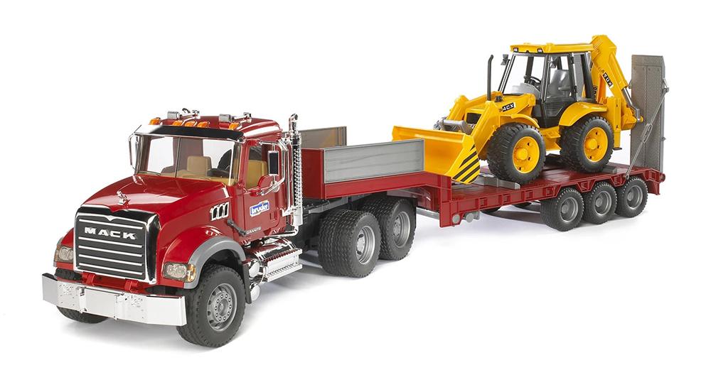 Bruder - MACK Camion et chargeur