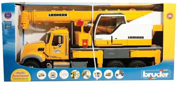 Bruder - Liebherr Camion-grue
