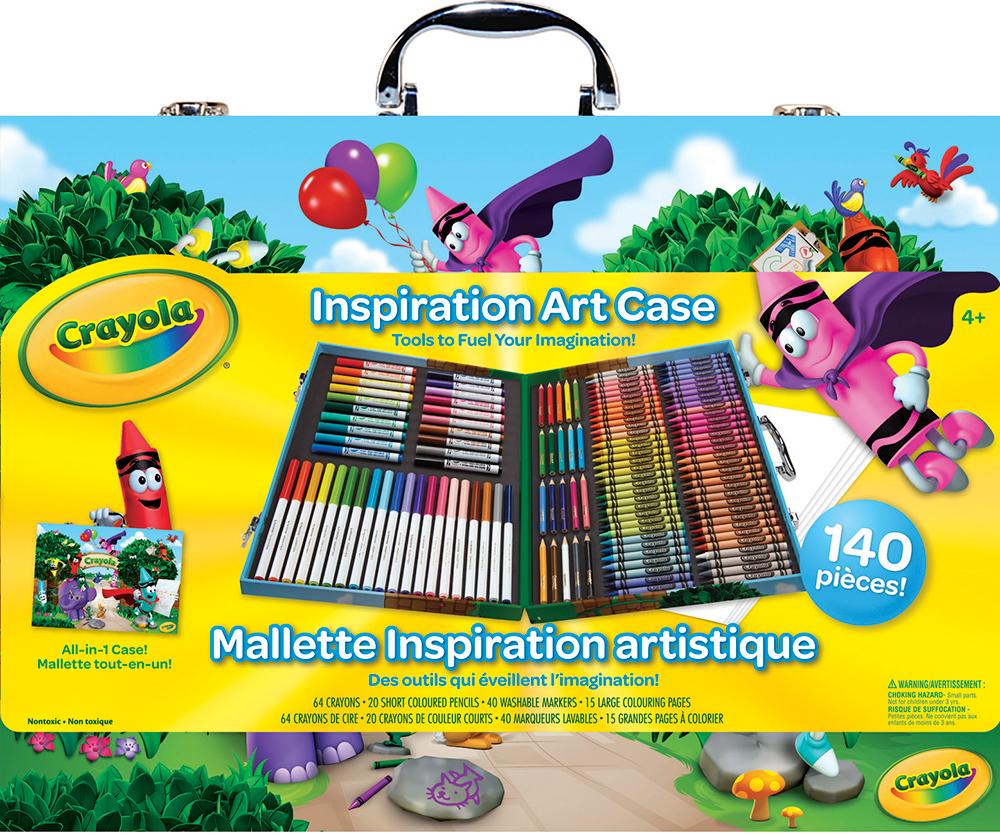 Crayola - Mallette inspiration artistique