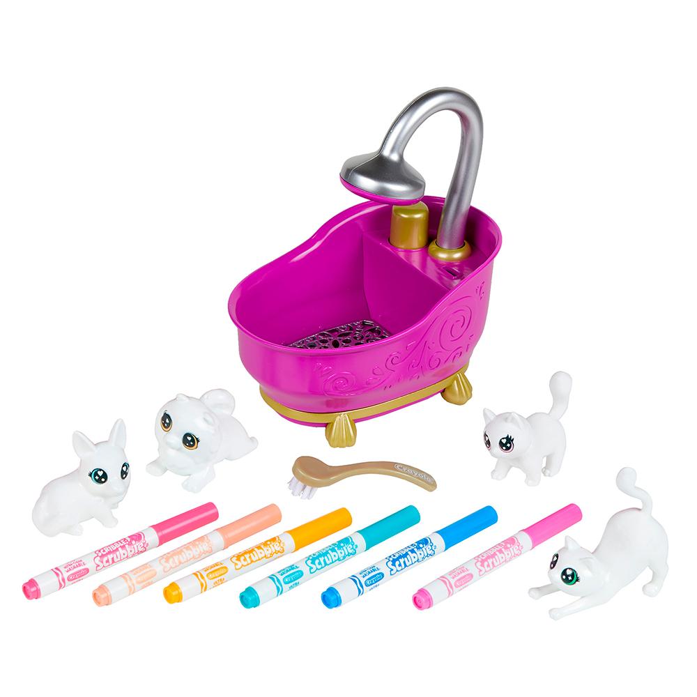Scribble Scrubbie - Animaux à colorier et bain