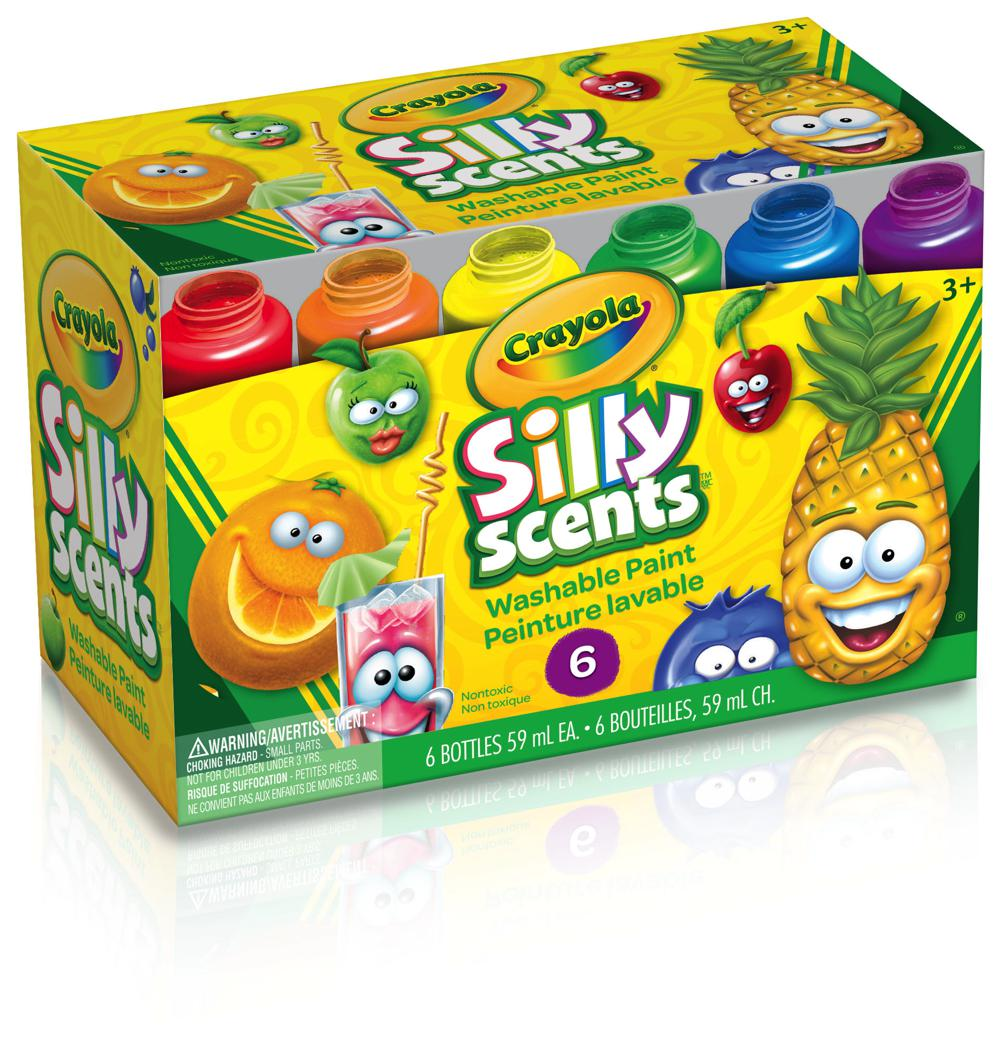 Crayola - Peinture lavable Silly Scents