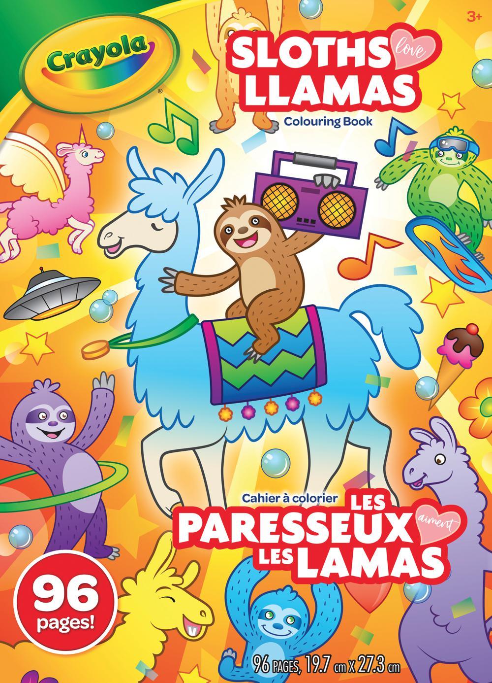 Crayola - Cahiers à colorier 96 pages assortis