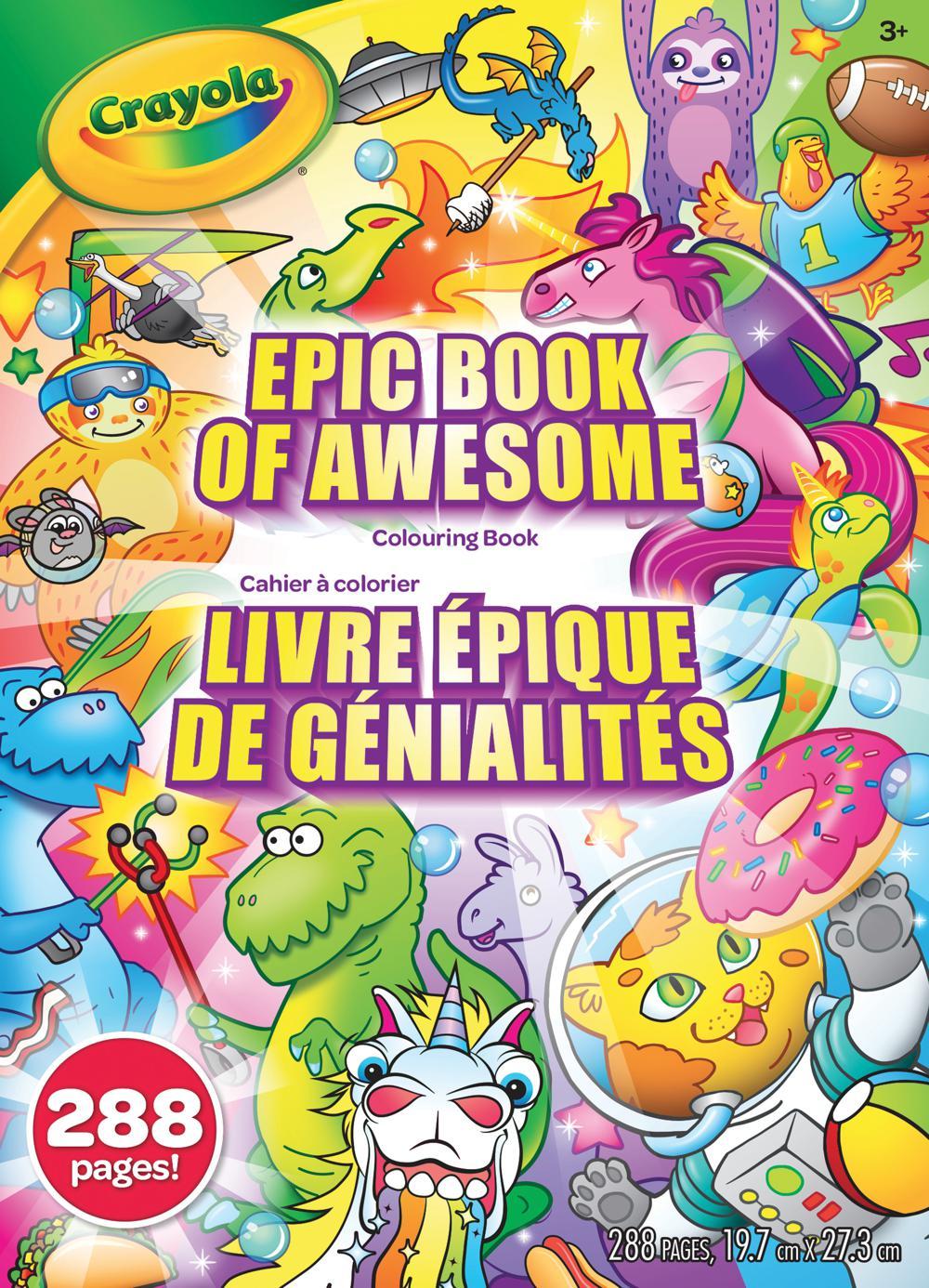 Crayola - Cahiers à colorier 288 pages assortis
