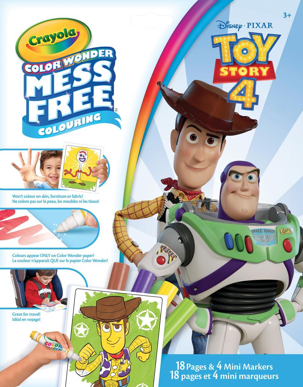 Color Wonder - Mini marqueurs Histoire de jouets 4