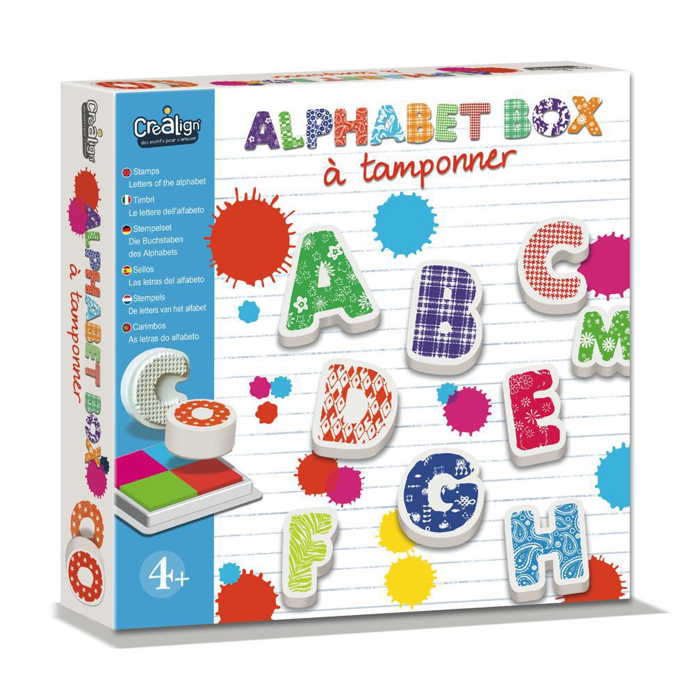 Crealign - Alphabet à tamponner