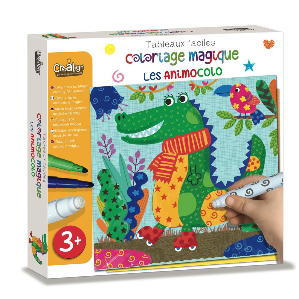 Coloriage Magique Facile Les Animocolo Club Jouet Le Plus
