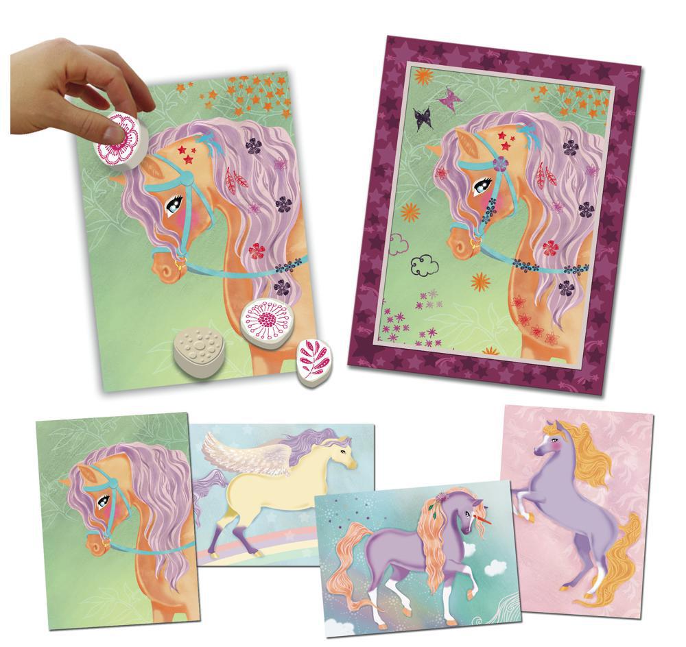 Cartes à créer - Les chevaux