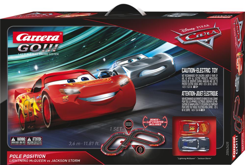 Carrera Go -  Cars 3 piste de course 1:43