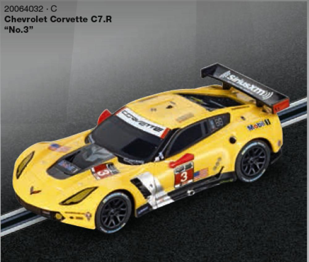 Carrera Go - 1:43 Chevrolet corvette C7R. No.3