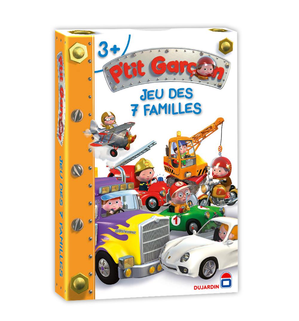 jeu des 7 familles p 39 tit garcon club jouet achat de jeux et jouets prix club. Black Bedroom Furniture Sets. Home Design Ideas