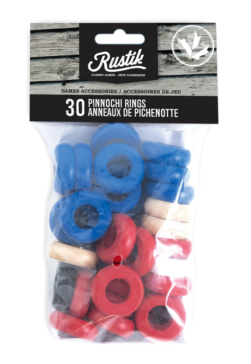 Rustik - 30 anneaux pour Pichenottes