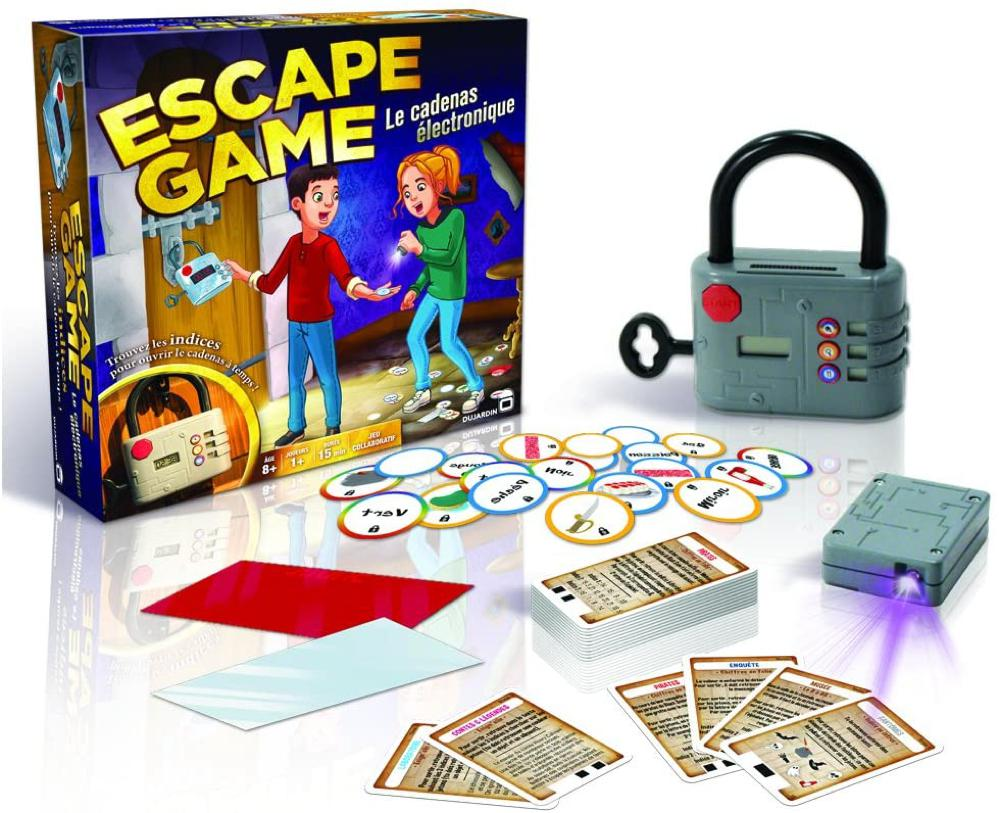 Jeu Escape game Le Cadenas électronique Version française