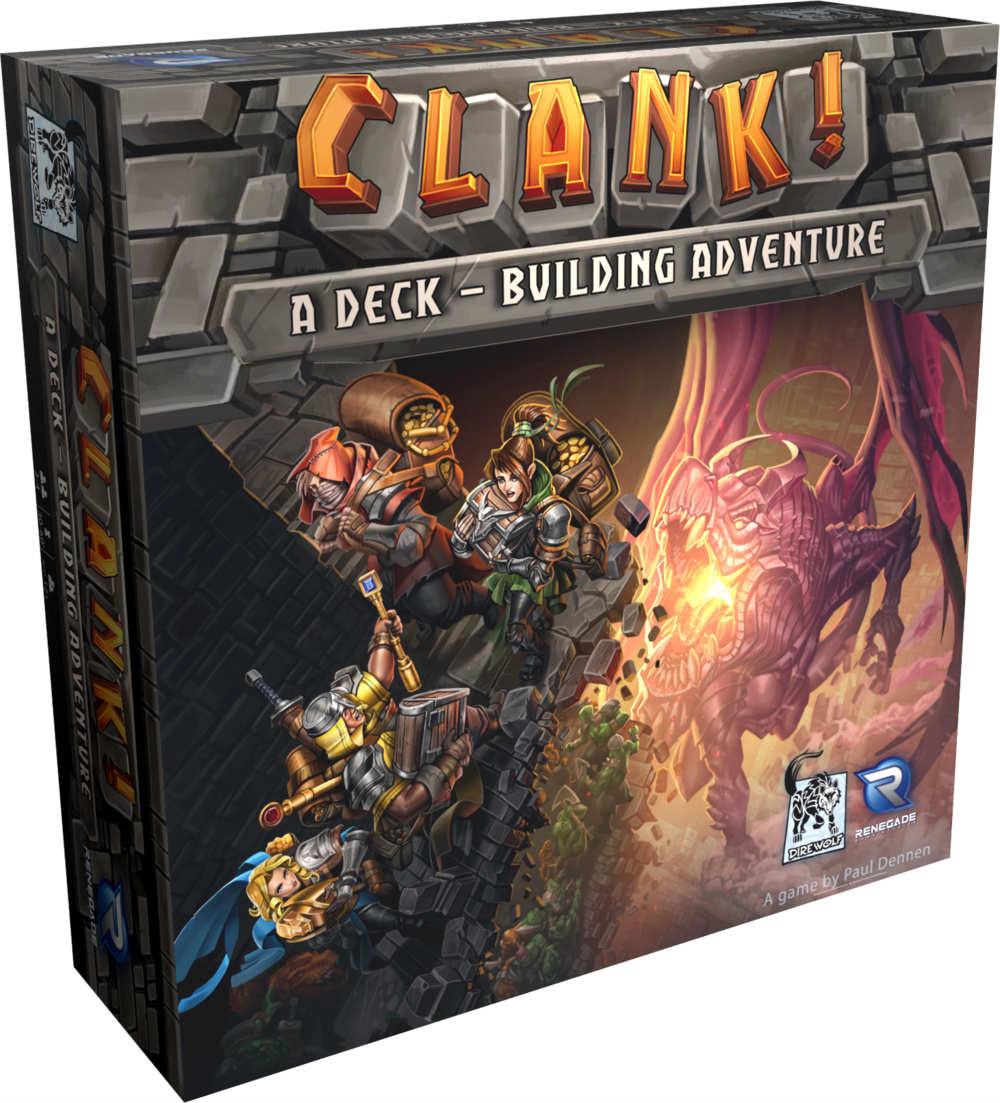 Jeu Clank - Les Aventuriers du Deck-building