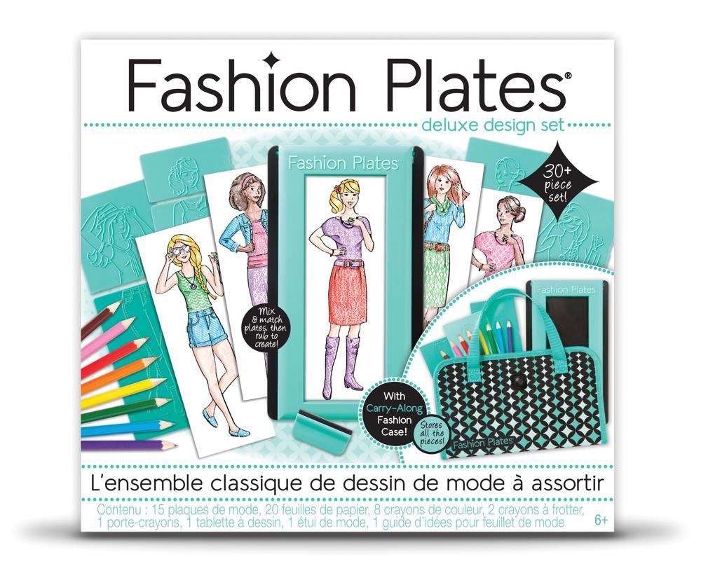 Fashion Plates - Ensemble de luxe Design