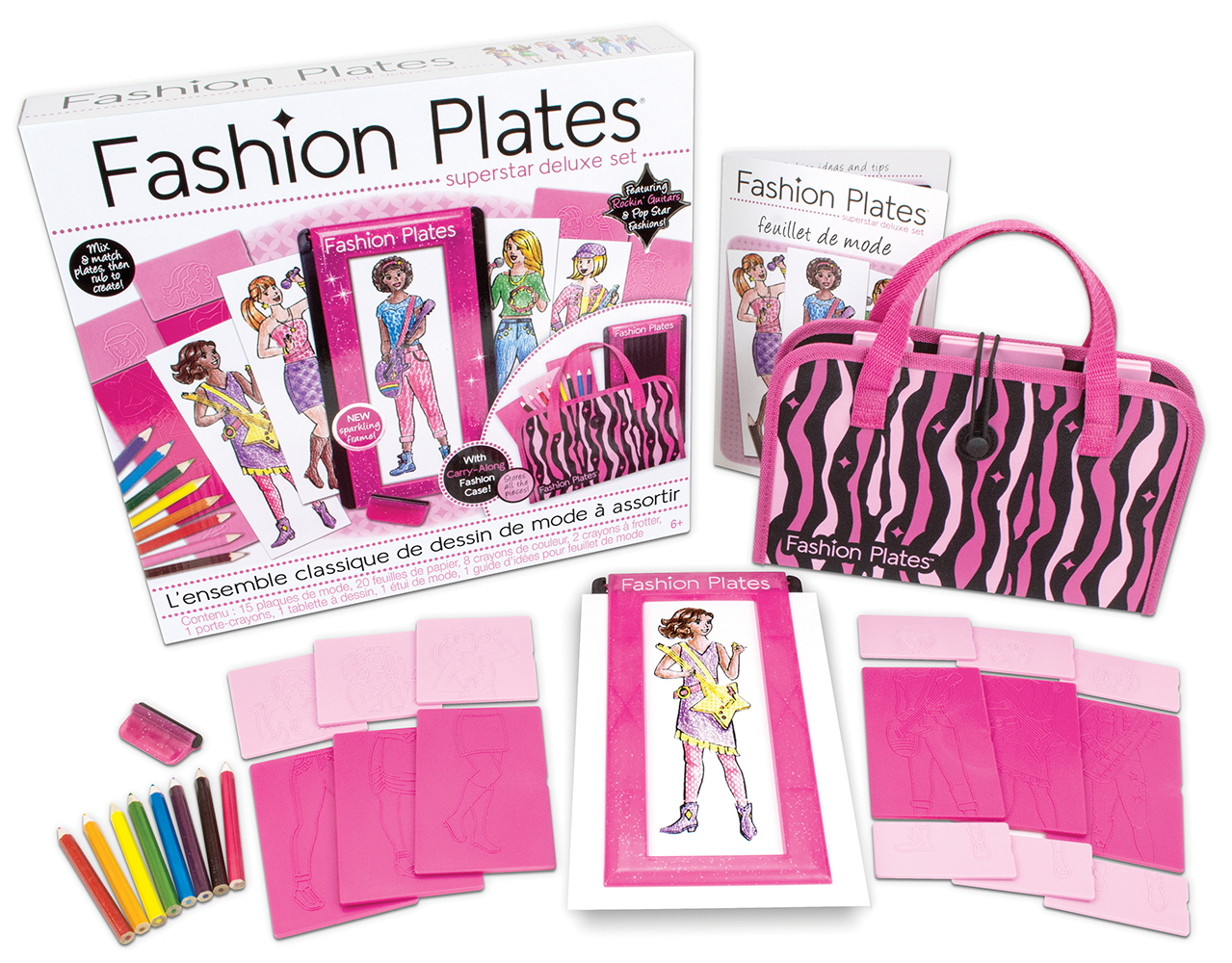 Fashion Plates - Ensemble de luxe Superstar