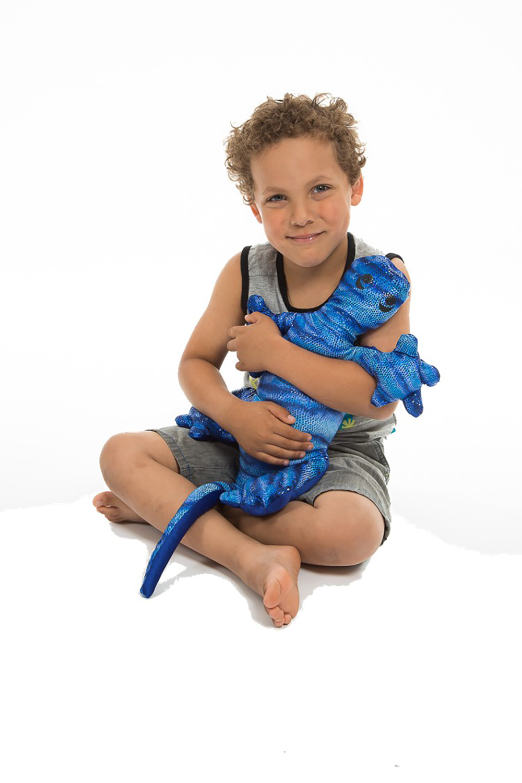 Manimo - Lézard lourd bleu 4.4 livres
