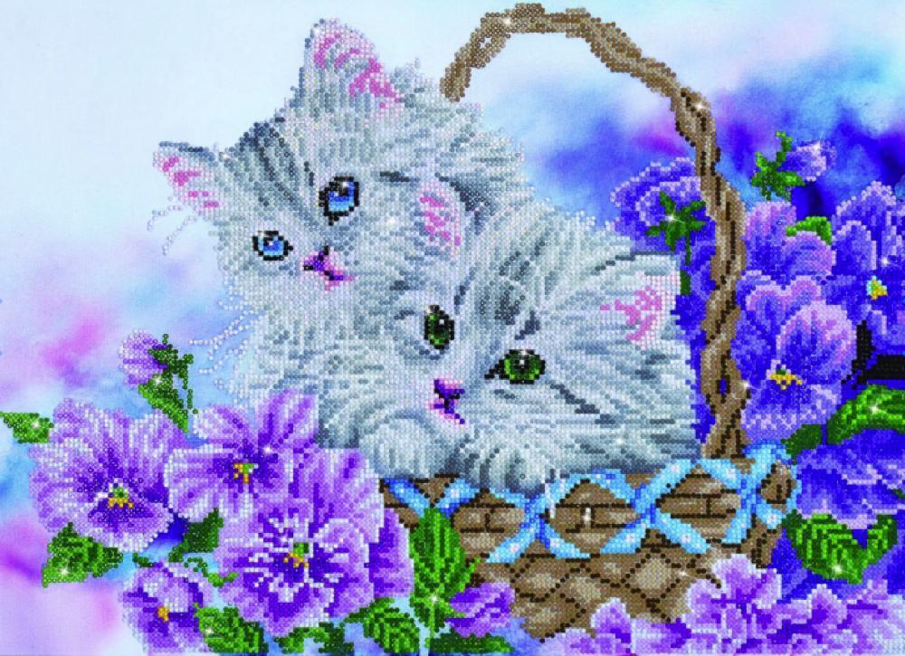 Diamond Dotz - Kitty Basket