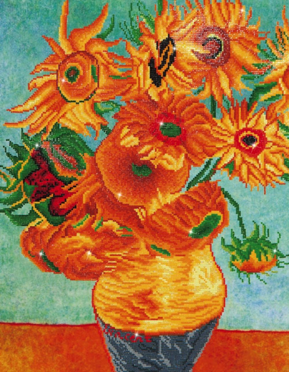 Diamond Dotz - Sunflowers (Van Gogh)