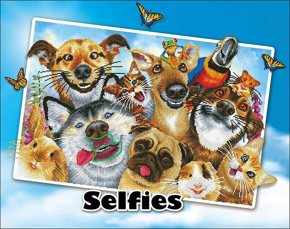 Diamond Dotz - Selfies: Love You!