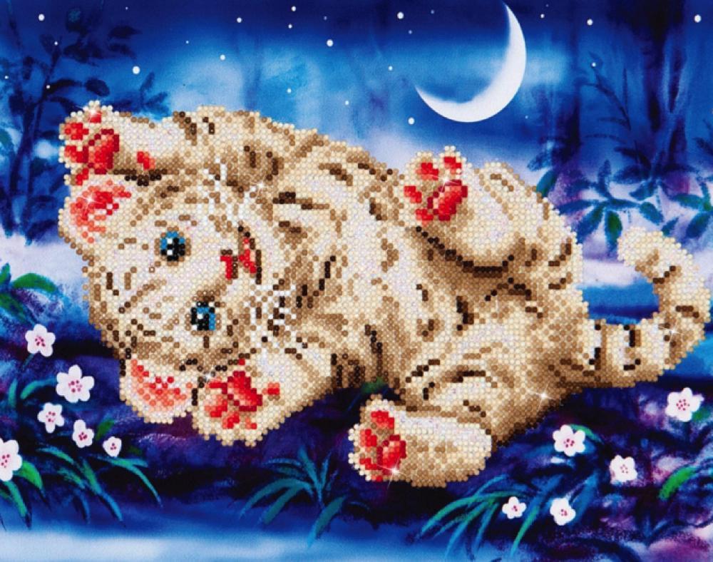 Diamond Dotz - Baby Tiger Roly Poly