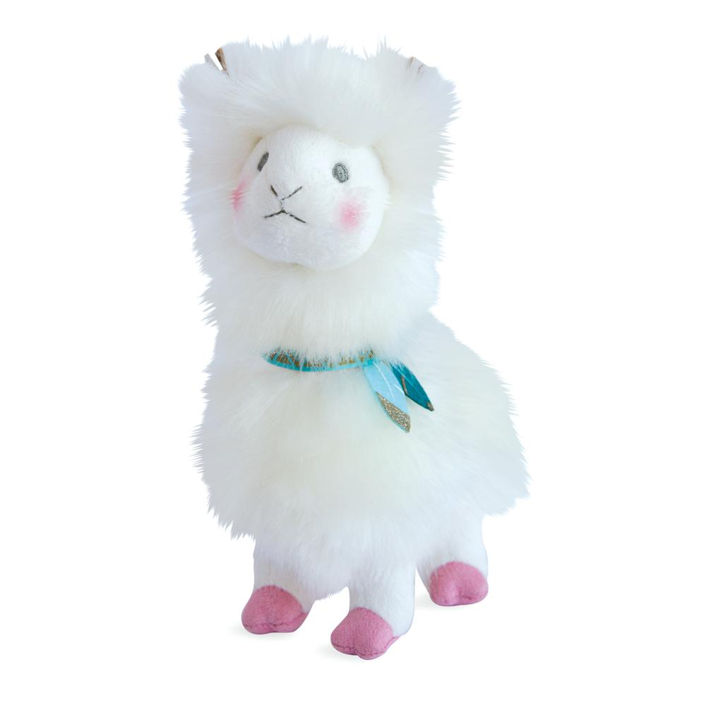 Je rêve! - Lama Blanc 20 cm