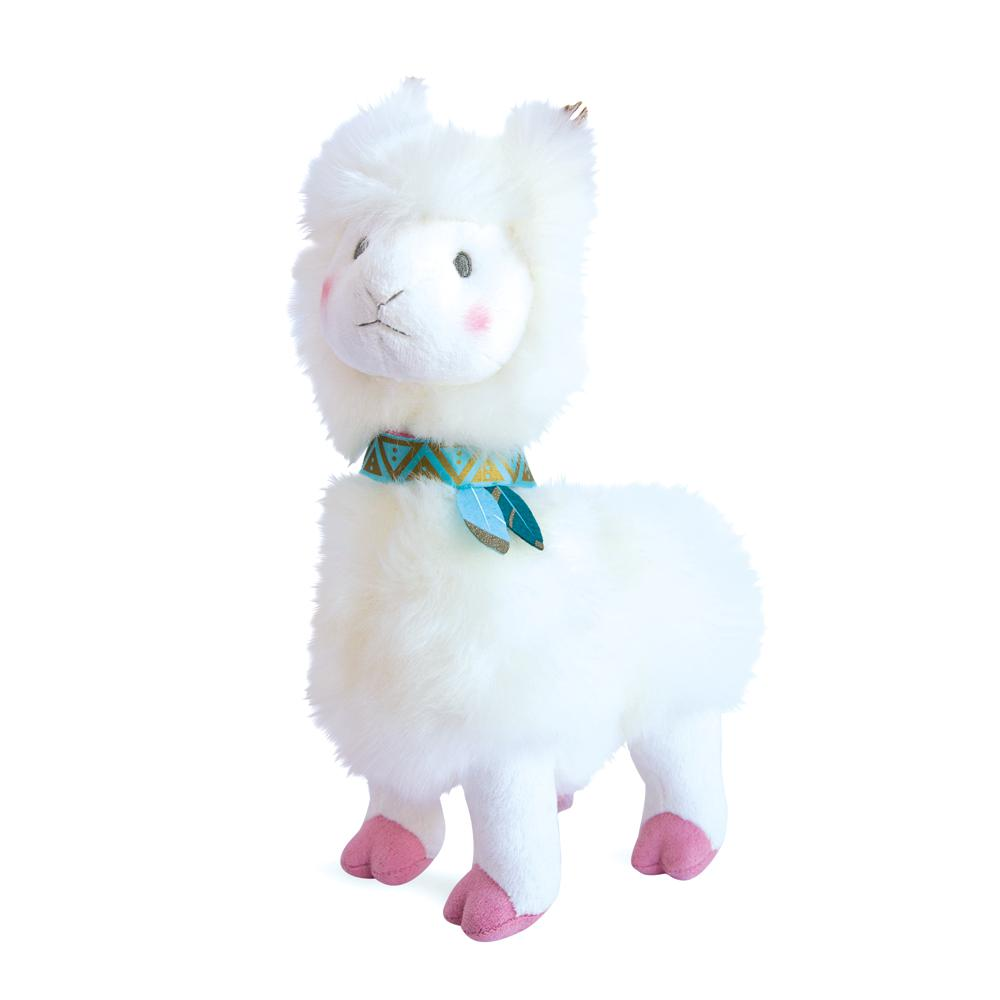 Je rêve! - Lama blanc 30 cm