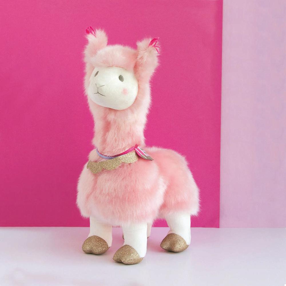 Je rêve! - Lama Rose 50 cm