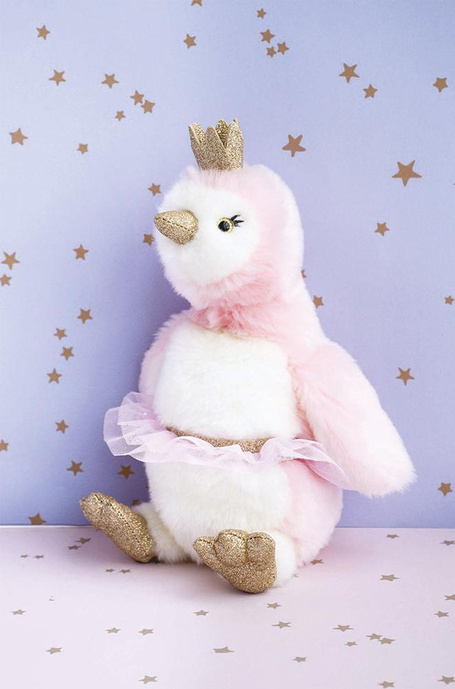 Je rêve! - Pigloo Rose 30 cm