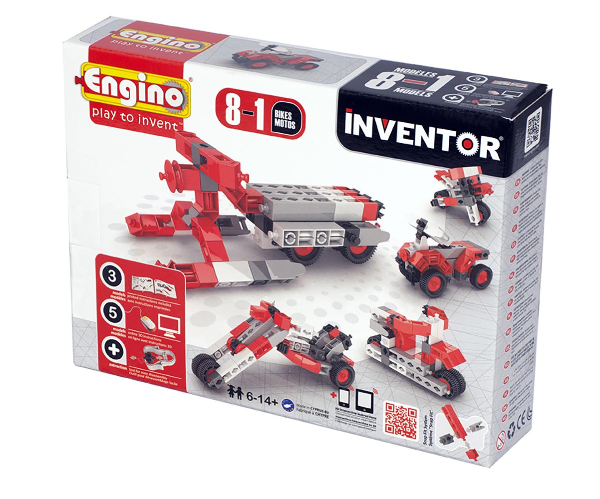 Inventor 8 Modèles Motos
