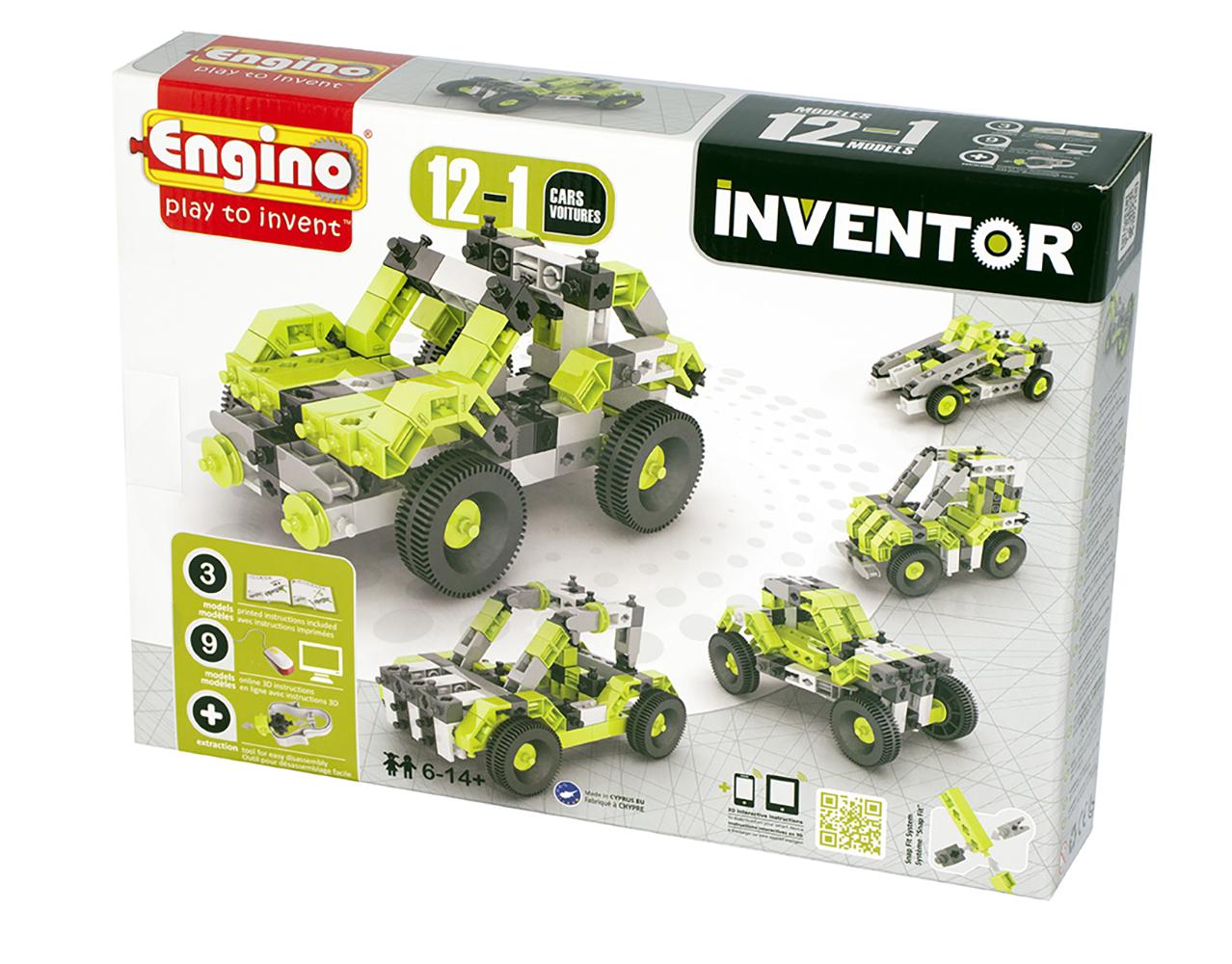 Inventor - 12 Modèles Voitures